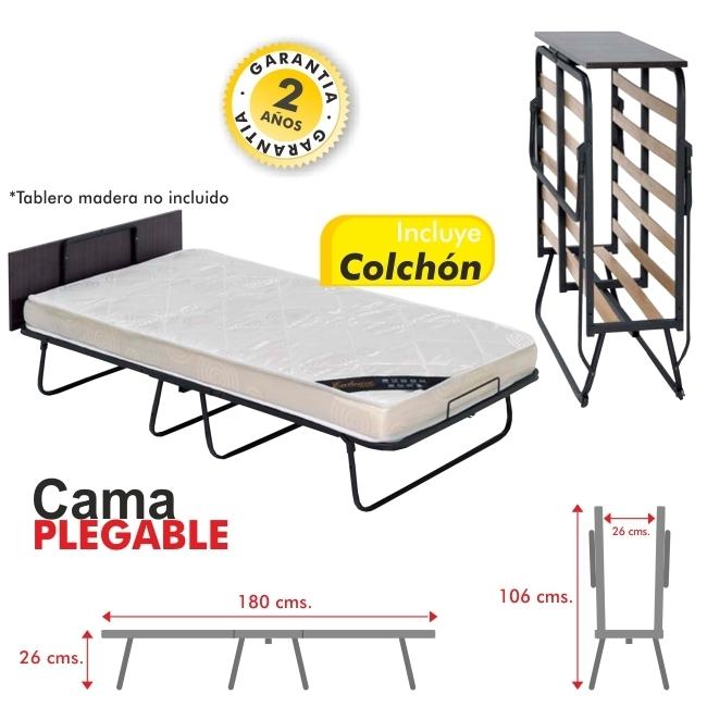 Cama plegable for Cama 80x180