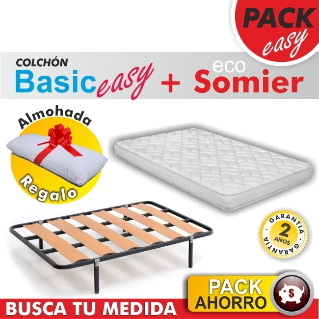 Pack Basic Easy + Somier + Almoh.