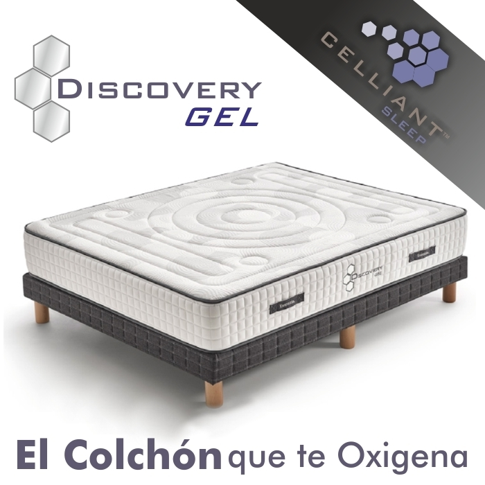 Colchón Celliant Discovery Gel