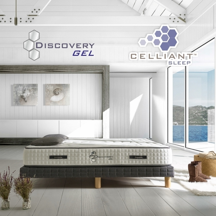 Colch n celliant discovery gel - Colchones gran canaria ...